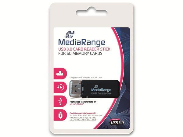 USB3.0 Cardreader MEDIARANGE MRCS507, schwarz