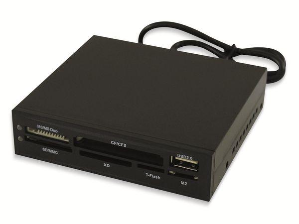 """USB2.0 Einbau-Hub LC_POWER LC-CR-1, 3,5"""""""