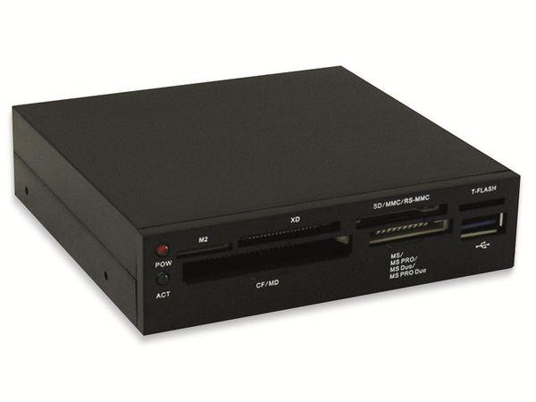 """USB3.0 EInbau-Hub LC-POWER LC-CR-2, 3,5"""""""