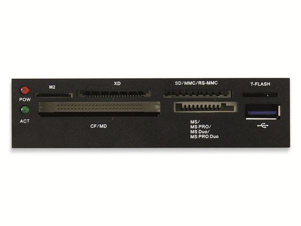 "USB3.0 EInbau-Hub LC-POWER LC-CR-2, 3,5"" - Produktbild 4"