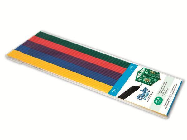 Filament 3DOODLER Create+, PLA Mix 2, gelb, blau, violett, rot, grün