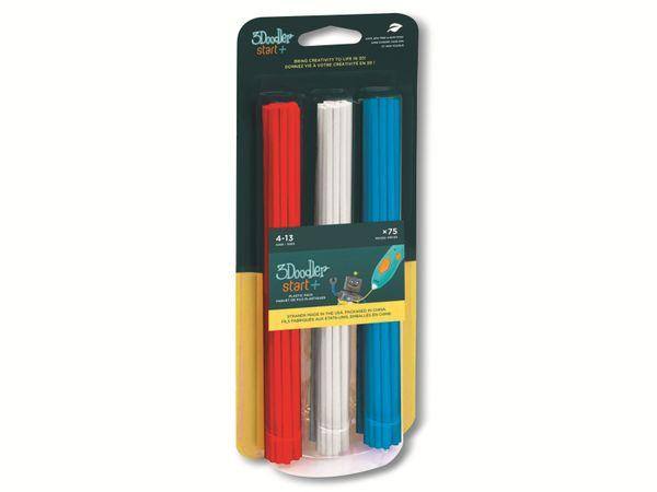 Filament 3DOODLER Start, Mix 1, rot, weiß, blau