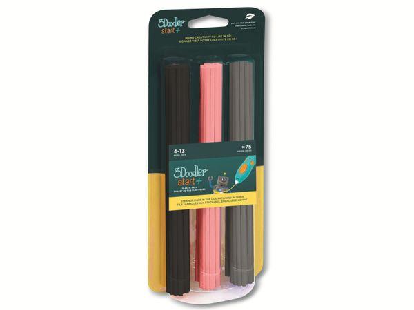 Filament 3DOODLER Start, Mix 3, schwarz, pink, grau