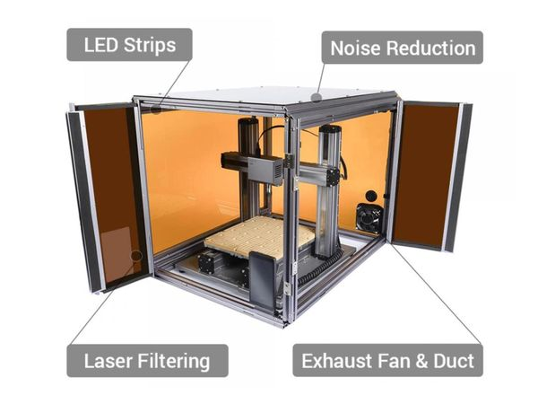 3D-Drucker SNAPMAKER 2.0, A250 3in1, Laser&CNC Fräse - Produktbild 2