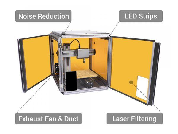 3D-Drucker SNAPMAKER 2.0, A150 3in1, Laser&CNC Fräse - Produktbild 2