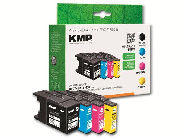 Tinten-Multipack KMP B59VX, ersetzt LC1280XLVALBP