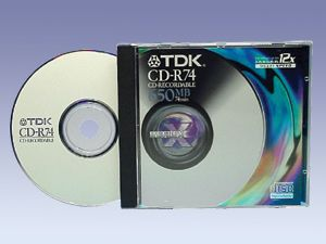 CD-Rohling Maxell CDR 74 XL