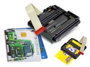 AMP Chipkarten-Kontaktiereinheit
