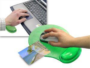 Foto-Maus-Pad mit Gelauflage