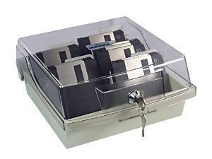 Diskettenbox für 80 Disketten