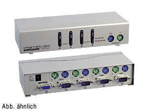 Elektronischer Data-Switch 4-port