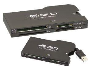 USB 2.0 Card-Reader/Writer 8 in 1