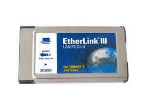 PCMCIA-Netzwerkkarte 3Com EtherLink III