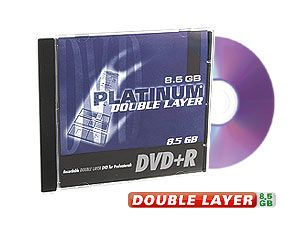 DVD+R Rohling (DoubleLayer)