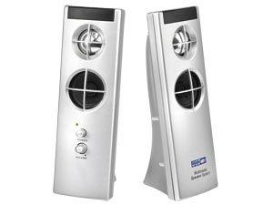 USB PC-Aktiv-Lautsprecher PCChips SKC102-M