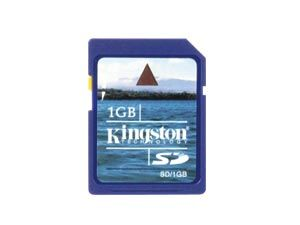 SD Card, 1 GB, KINGSTON