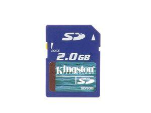 SD Card, 2 GB, KINGSTON