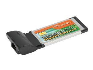 ExpressCard 34 Netzwerkkarte, 1000 Mbps