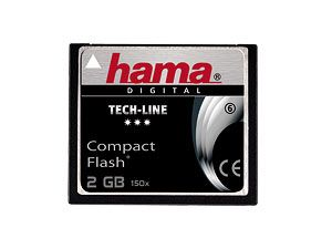 CF Card, 2 GB, HAMA TechLine