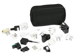 Internationales Modem-Adapter-Set EUROPE Plus