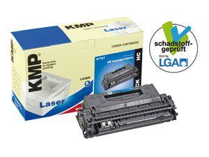 Toner KMP, kompatibel für HP 53X (Q7553X), schwarz