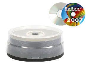 DVD-R Spindel (bedruckbar)