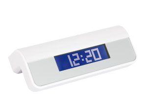 USB-Hub mit digitaler Uhr und Wecker - Produktbild 1