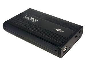 """8,9 cm (3,5"""") Festplatten-Gehäuse, USB 2.0 zu IDE"""