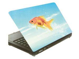 Laptop-Aufkleber GOLDFISCH
