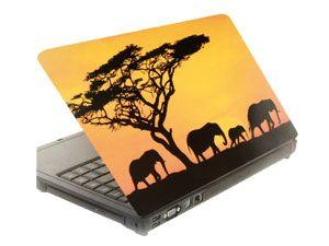 Laptop-Aufkleber ELEFANTEN
