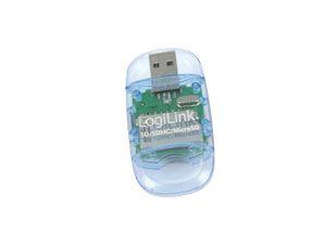 USB 2.0 Cardreader LOGILINK, SD/microSD - Produktbild 1