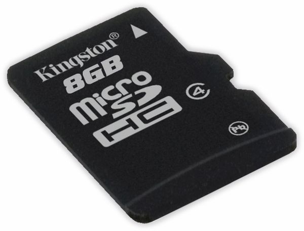 MicroSDHC Card KINGSTON SDC4/8GB