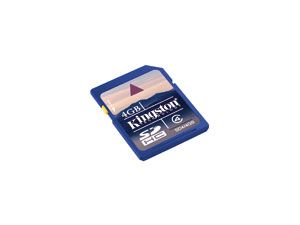 SDHC Card KINGSTON SD4/4GB