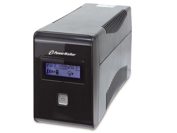 USV mit Display POWERWALKER VI650 LCD - Produktbild 1