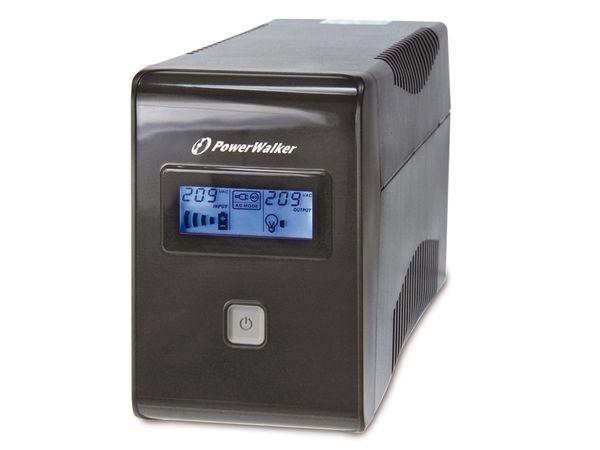 USV mit Display POWERWALKER VI650 LCD - Produktbild 2