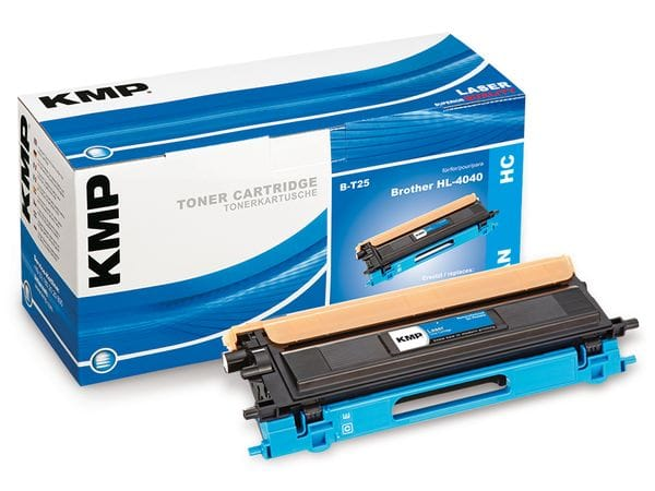 Toner KMP, kompatibel für Brother TN-135C, cyan