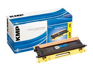 Toner KMP, kompatibel für Brother TN-135Y, gelb
