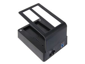 Dual-HDD-Dockingstation, USB 3.0 zu 2x SATA - Produktbild 3