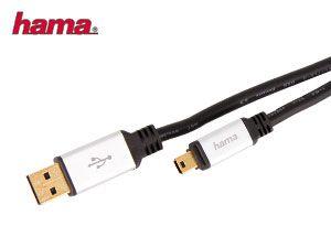 USB-Anschlusskabel A zu Mini-B HAMA - Produktbild 1