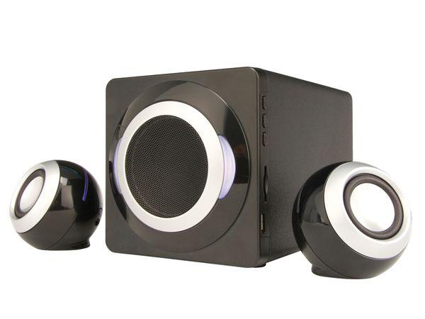 Subwoofer-System mit MP3-Player ER-2019, 2.1 - Produktbild 1