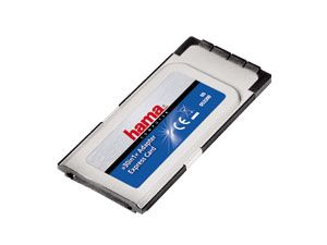 ExpressCard 34 Cardreader HAMA 53300, 30 in 1
