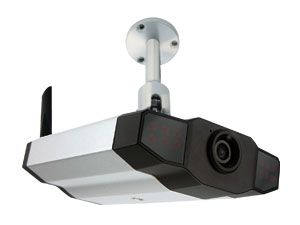 Netzwerk-Farbkamera LogiLink WC0013, LAN/WLAN - Produktbild 1