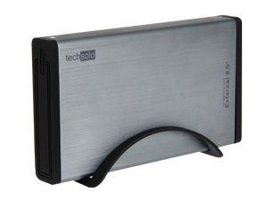 Festplatten-Gehäuse TECHSOLO TMR-740ES, USB 2.0/eSATA zu SATA - Produktbild 1