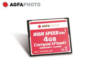 CF Card AGFA PHOTO, 120x, 4 GB