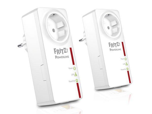 Powerline Adapter-Set AVM FRITZ!Powerline 520E, 500 Mbps
