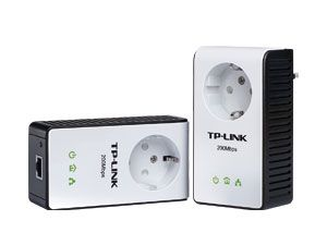 Powerline Adapter-Set TP-Link TL-PA251KIT AV200+, 200 Mbps - Produktbild 1