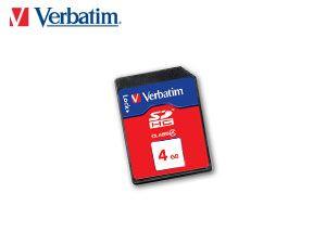 SDHC Card VERBATIM 44016, 4 GB, Class 4