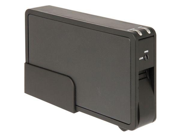 "8,9 cm (3,5"") Festplatten-Gehäuse, SATA zu eSATA/USB - Produktbild 1"