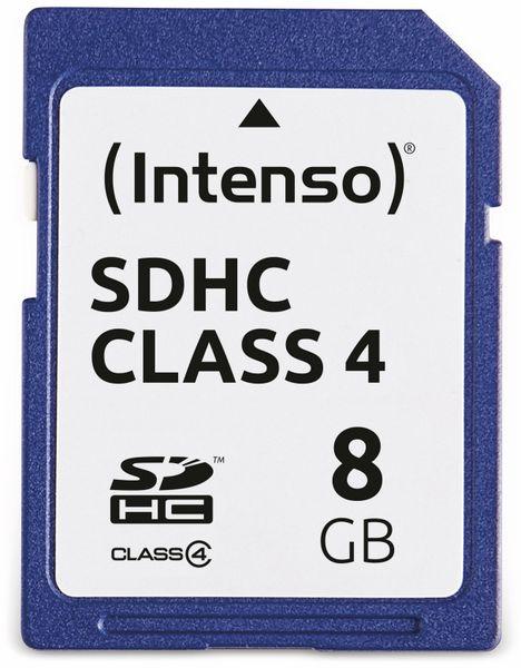 SDHC Card INTENSO, 8 GB, Class 4 - Produktbild 1
