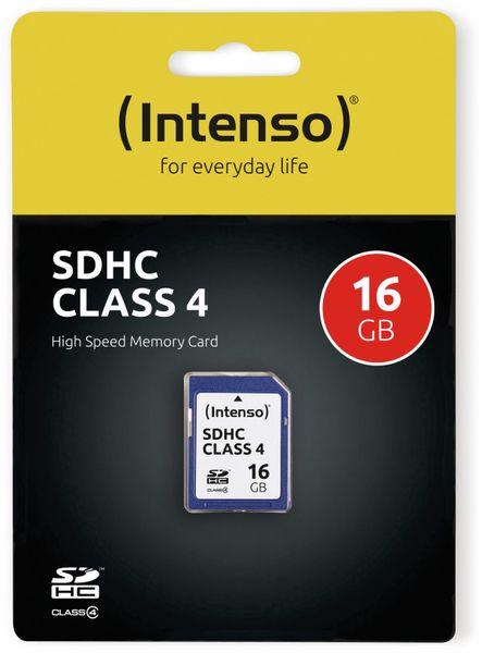 SDHC Card INTENSO, 16 GB, Class 4 - Produktbild 2